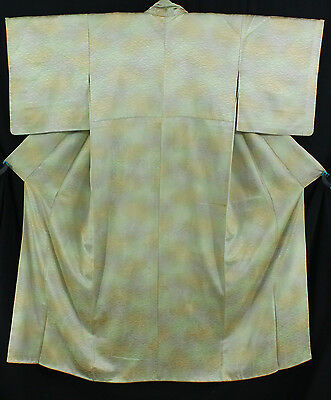 小紋 着物 Komon Kimono - Vintage DESTOCKAGE - 100% soie - Made in Japan 1404