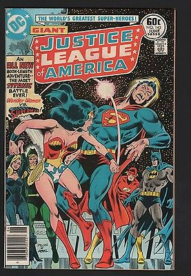 Justice League of America #143 VF/NM 9.0 Cream to Off White Pages