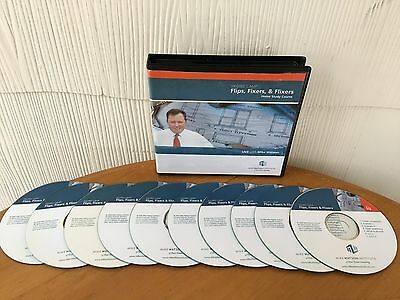Flips, Fixers & Flixers Home Study Real Estate Course By Mike Watson - 10 CD SET