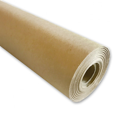 """Kraft Paper Roll, Wide 30"""" x 1200"""" (100ft), MADE IN THE USA from 100% Recycled M"""