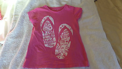 3 Girls T-Shirts - Age 7-8 Years