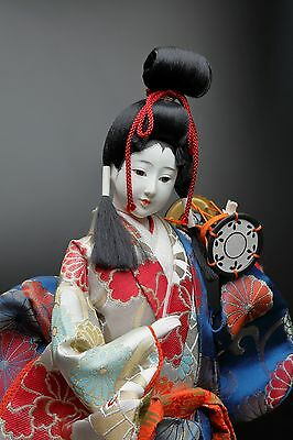 Vintage Japanese GEISHA Doll  -Traditional percussion-  Maiko Doll