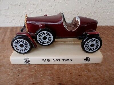Carlton Ware England 1925 MG No. 1 Ceramic Advertising Showroom Auto Car Gift