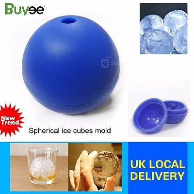 NEW Star Wars Ice Cube Round Ball Mould Tray Desert Sphere Death Star 3D