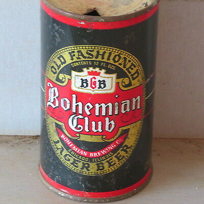 Bohemian   Club Beer   Solid   Colorful 2  Sided  Chicago  Flat Top