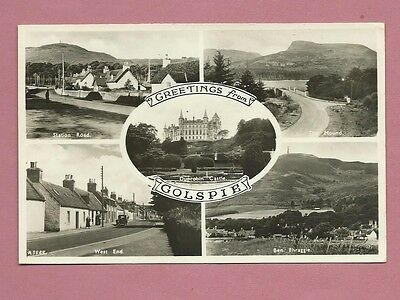 1950s Postcard - Greetings From Golspie