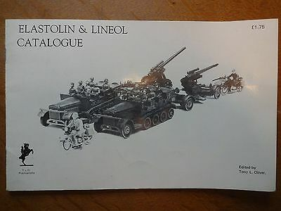 Rare 1971 Reprint Of The 1930S Elastolin & Lineol Catalogue
