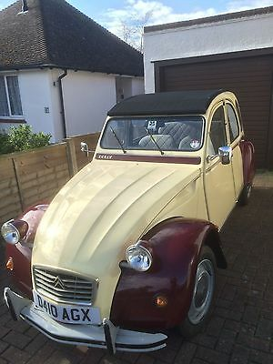 2cv6 Special Dolly 1987, 23600 miles only. No Reserve!