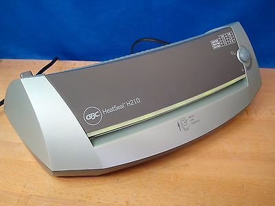 """GBC HeatSeal H210 9.5"""" Sealer Photo Quality Laminator Uses 3 and 5 mil pouches"""