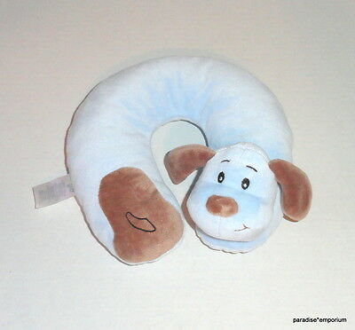 Baby Gear Blue Puppy Plush Infant Neck Roll Pillow Travel Head Support P68