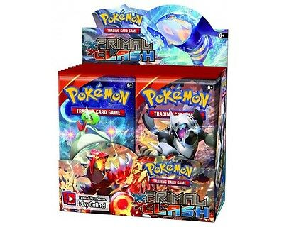 Pokemon XY Primal Clash Trading Card Game Booster Box New/Sealed