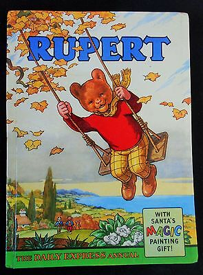 Superb Vintage Original 1961 Rupert Bear Annual, Unscribed/price Unclipped 5/-
