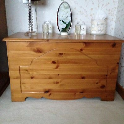 Solid Pine Storage Chest / Toy Box / Tool Box