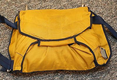 "Jerry Bird ""Cheapo"" chest reserve parachute container by Pioneer Parachute / PI"