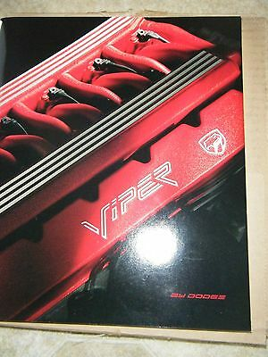 Dodge Viper Rt/10 Catalog Mailed Directly From Chrysler Brand New Condition Nib