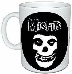 Misfits Band Logo and Face Coffee Mug