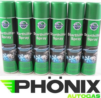 6x Starterspray Starthilfespray Startpilot Starthilfe Start Spray 300ml