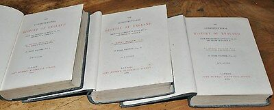 The Constitutional History Of England H Hallam 3 Vol Set 1884 New Edition