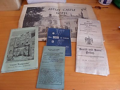 Collection Of Assorted Paper & Ephemera - Prudential Insurance Document/ Booklet