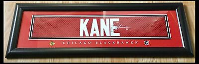 Patrick Kane Chicago Blackhawks NHL Framed Replica Signed Jersey Nameplate Print