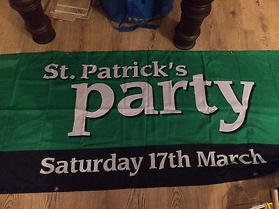 Guinness St Patrick's Day Party Banner