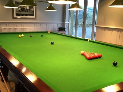 Riley full size snooker table with accessories