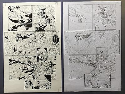 Aquaman Vol.7, #23.1: Black Manta Pg 17 Nov.'13 Original Art by St. Aubin New 52