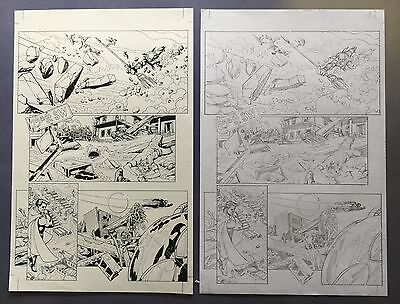 Aquaman Vol.7, #23.1: Black Manta Pg 19 Nov.'13 Original Art by St. Aubin New 52