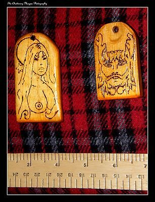 Pair of Lord and Lady Coven Pendants