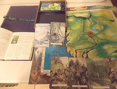 Lord of the Rings Oracle Tolkien Mystical Pack Middle Earth Maps/Cards/Ring