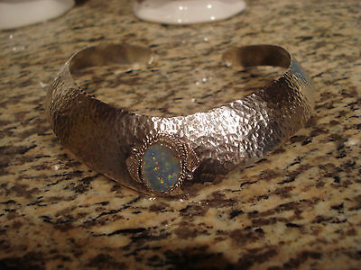 Vintage Old Pawn Native American Sterling Silver Choker Necklace 47.7 Grams