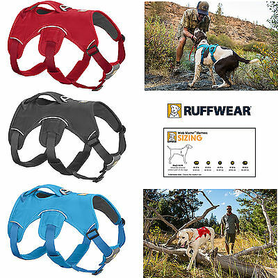 Ruffwear Web Master dog harness - NEW for 2017 - 3 Colours & 5 Sizes