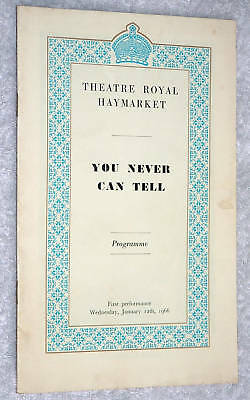 1966~YOU NEVER CAN TELL~Celia Bannerman~RALPH RICHARDSON~Keith Baxter~C. Luckham