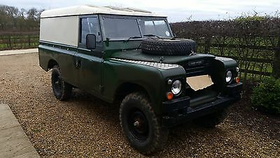 Land Rover Series 3 Ex Military.