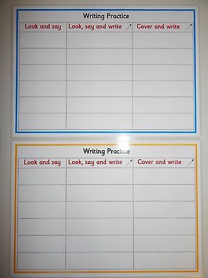 Blank Writing Practise -Spellings/High Frequency Words Practice -Phonics KS1/KS2