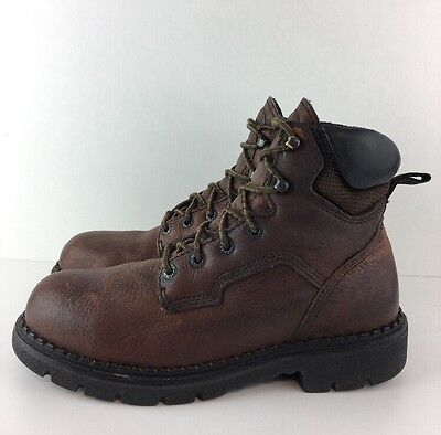 Red Wing  Boots Men's Uk Size 7 Steel Toe