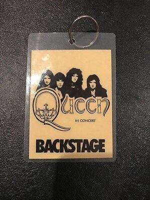 Queen In Concert Backstage Pass - Laminated