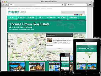 Your Own Online Real Estate Website Advertise Property For Sale/ Rent/holiday!!