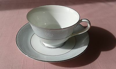Noritake Laureate 5651 Cup and Saucer Vintage China