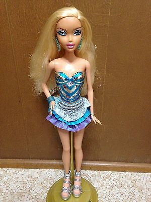 Barbie My Scene Kennedy Doll Blonde Bling Boutique Dressed Rare