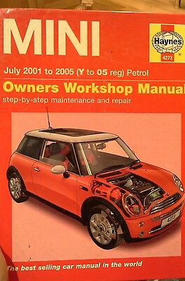 Bmw Mini Workshop Manual (Haynes) 2001-2006