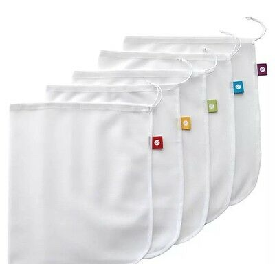 NEW D.Line Mesh Eco Reusable Produce Bags Keeps Produce Fresher Longer FREE POST
