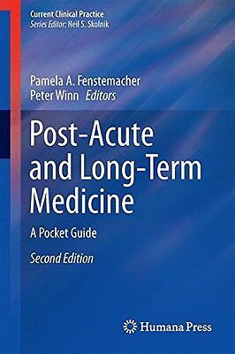 Post-Acute and Long-Term Medicine Paperback New  Book