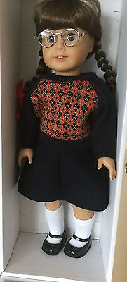 American Girl Doll MOLLY Meet Dress + Meet Molly Book Excellent Condition