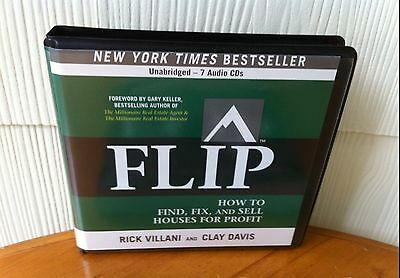 Gary Keller's FLIP: How to Find, Fix, and Sell Houses For Profit - 7 CDS!  NEW!