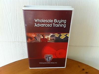 Russ Whitney Wholesale Buying Training Real Estate Course - MANUAL & 11 DVD SET!