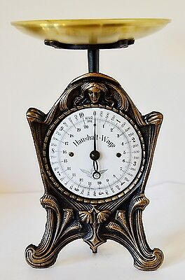 Old Style, Vintage, Antique, Shabby Chic, German Kitchen Scale