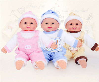 REAL LIFE BABY DOLL KIDS GIRLS TOY COT ACCESSORIES XMAS GIFT With Music Box NEW