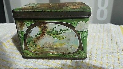 Vintage Collectable '' Four Seasons '' Container / Tin