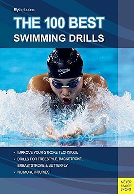 100 Best Swimming Drills by Blyth Lucerno New Paperback Book